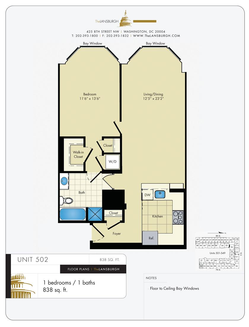 Floor Plans The Lansburgh