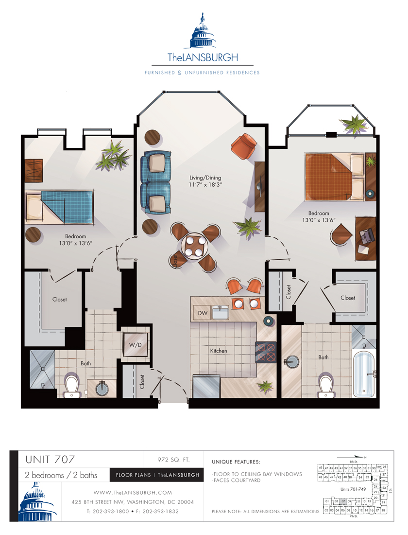 Floor Plans  U2013 The Lansburgh
