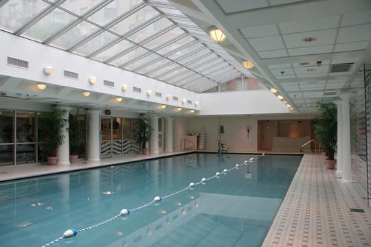 Indoor Pool Lansburgh Courtyard