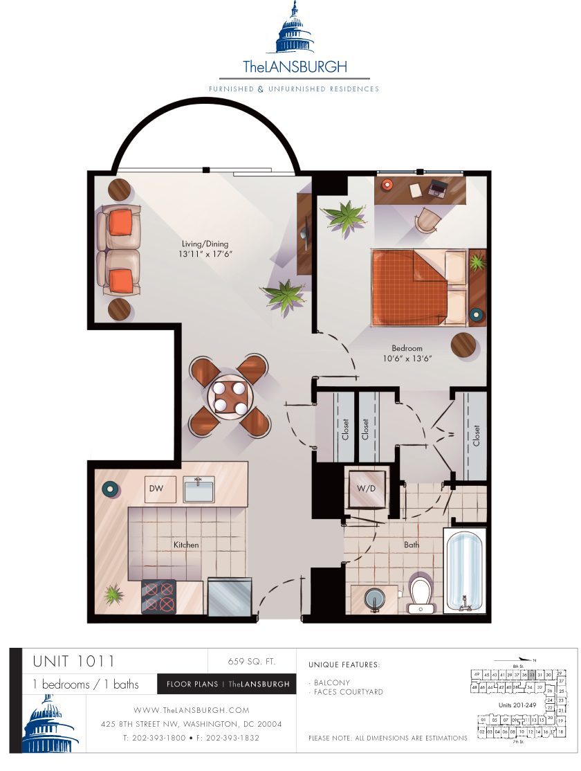 Floor Plans The Lansburgh